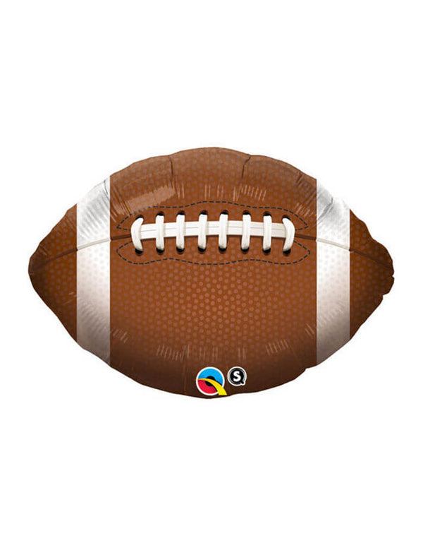 "Qualatex 36"" Jumbo Football Foil Mylar Balloon"