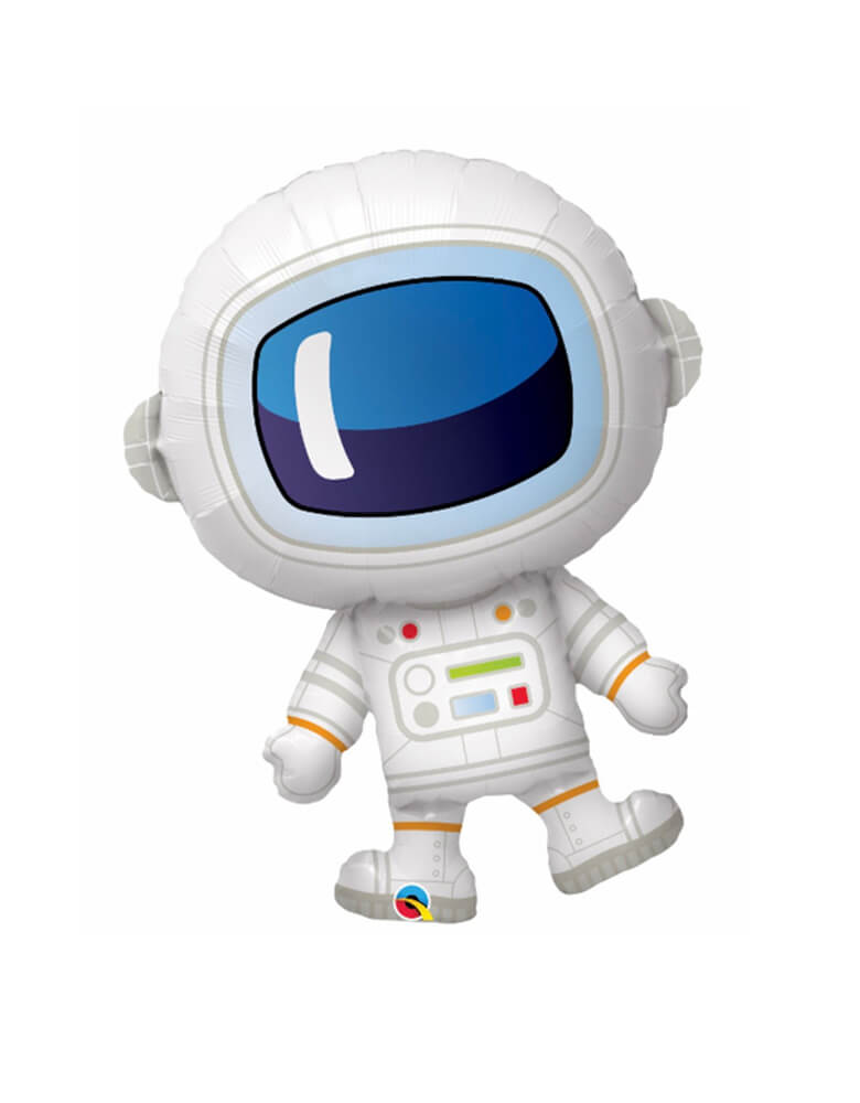 "37"" Qualatex Space Adorable Astronaut Foil Balloon"
