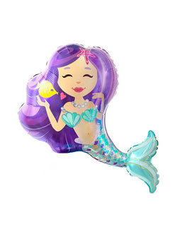 "38""_Qualatex_Enchanting Mermaid Mylar Balloon"