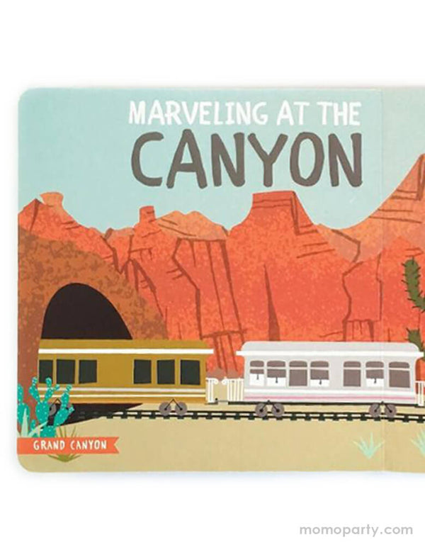 All Aboard National Parks Children's Book