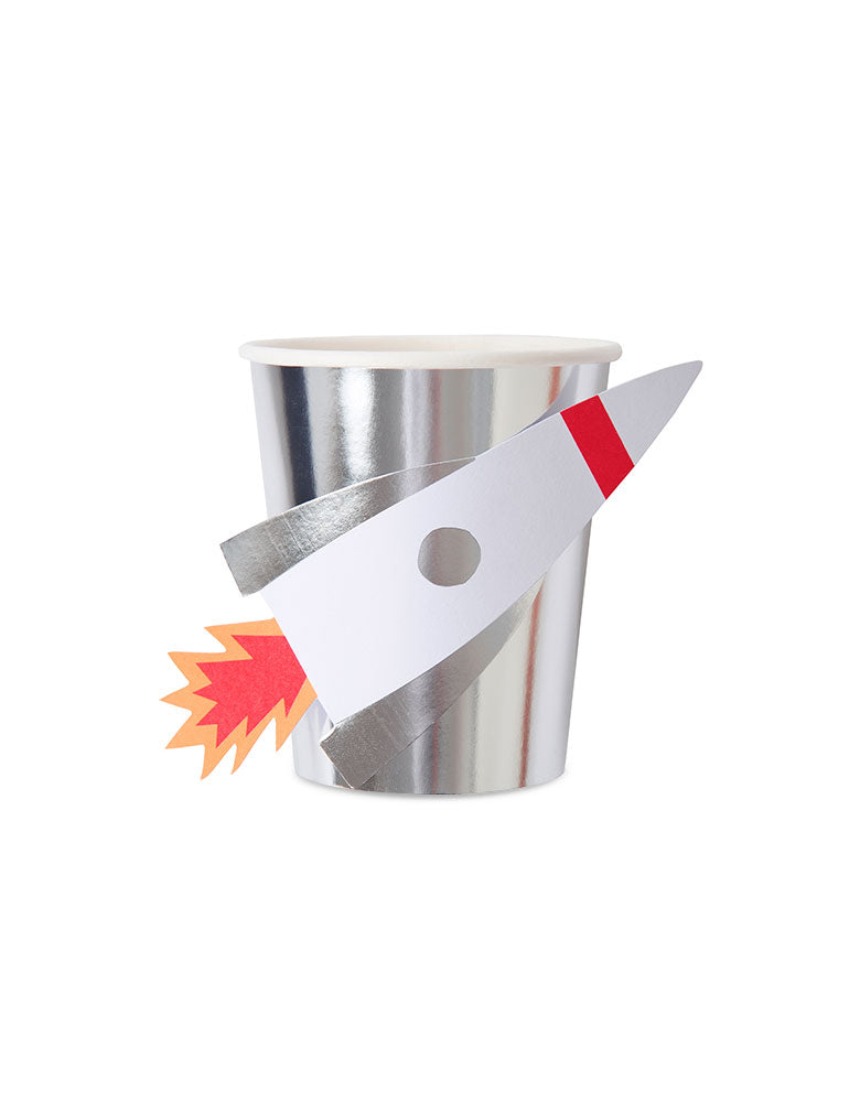 Meri Meri To The Moon Rocket Cups