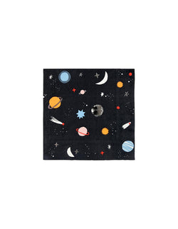 To The Moon Small Napkins (Set of 16)