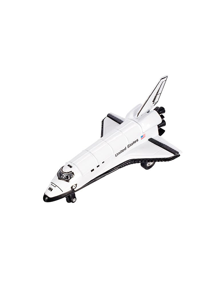 ToySmith Pull-Back Space Shuttle