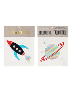 Space Tattoos (Set of 2)