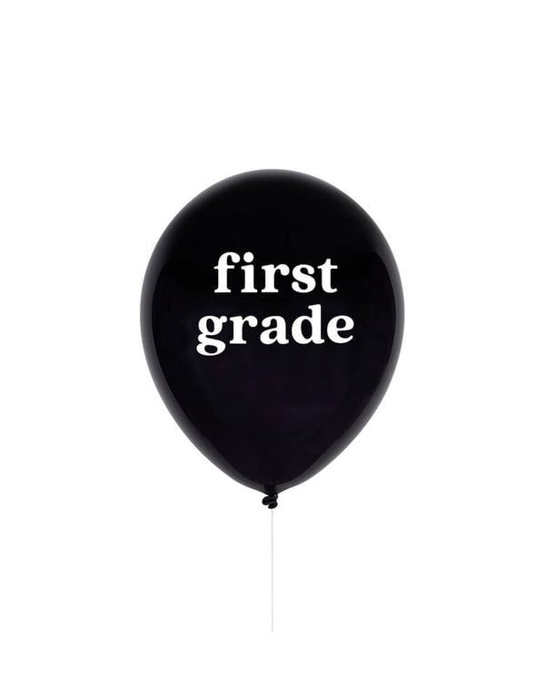 "Studiopep 11"" First Grade Latex Balloon in black"