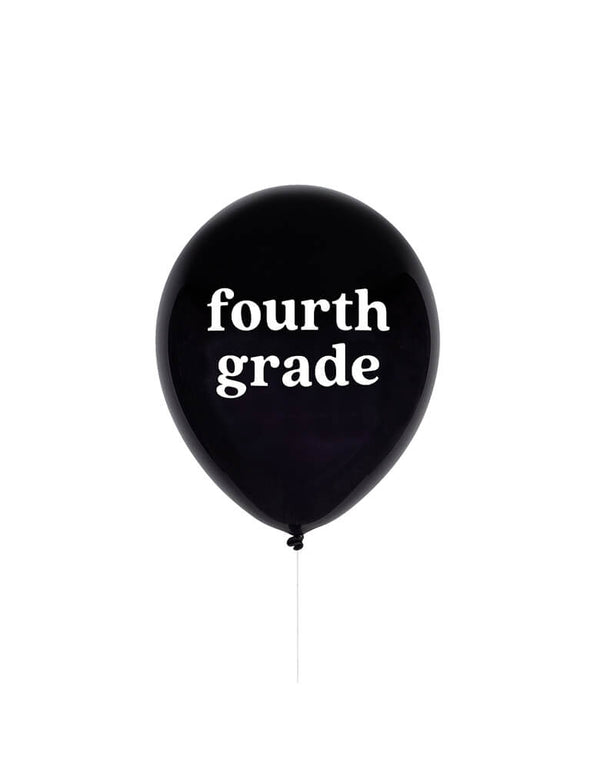 Fourth Grade Latex Balloon
