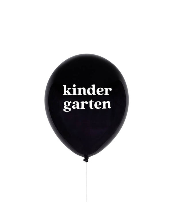 "Studiopep 11"" Kindergarten Latex Balloon in black"