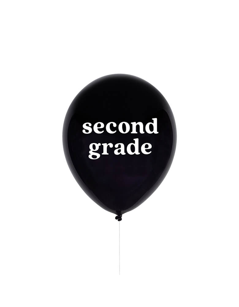 "Studiopep 11"" Second Grade Latex Balloon in black"