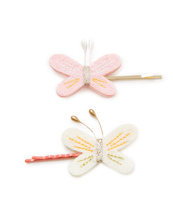 Beautiful Butterfly Hair Clip Set of 2 for children