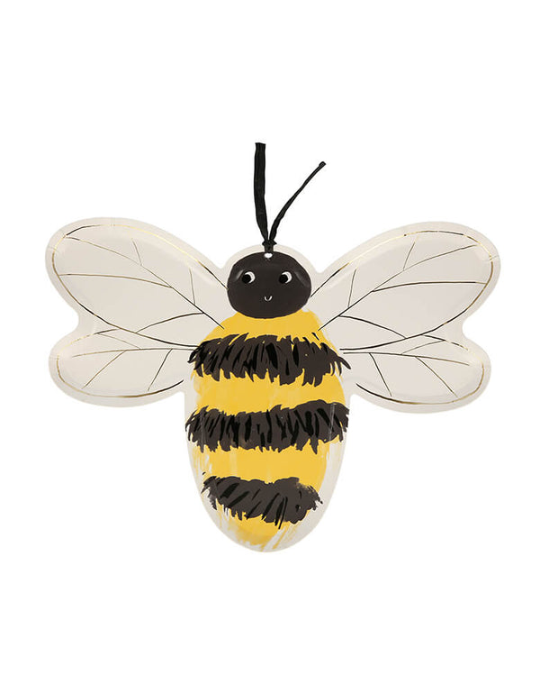 Bee Plates (Set of 8)