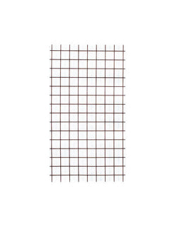 Oh Happy Day Black And White Grid 7 3/4  x 4 3/8 Dinner Napkins