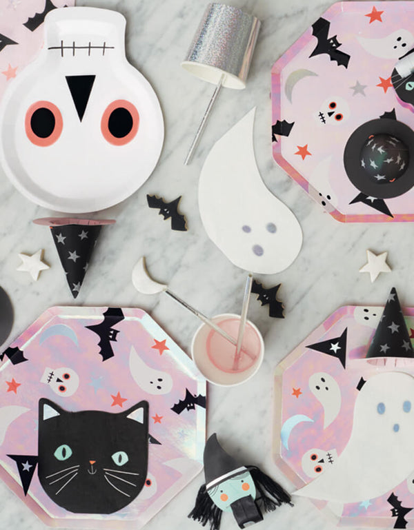 Kids Halloween Party Supplies_Meri Meri_Black-Cat-Halloween-Napkins