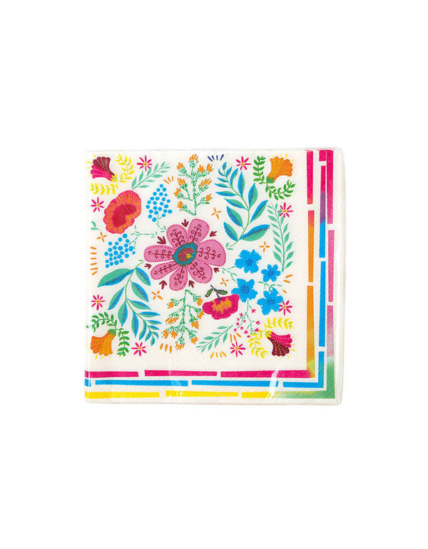 Talking Tables Boho Fiesta Floral Napkin