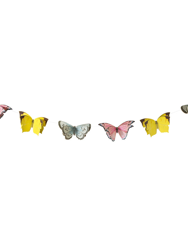 Truly Fairy Butterfly Bunting Garland