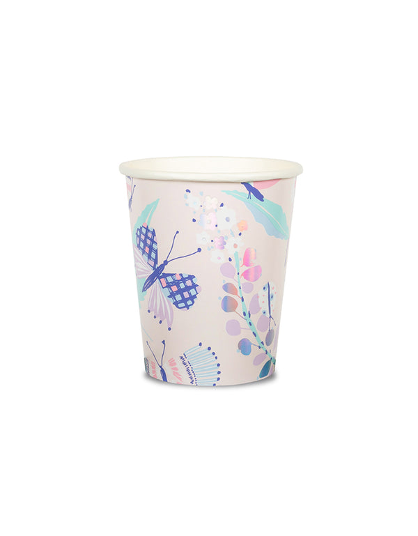 Daydream Society_Flutter Butterfly Cups_Kids Butterfly Party_Fairy Party Supplies