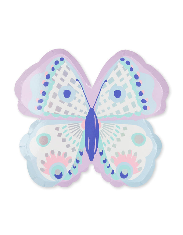 Daydream Soceity_flutter-large-plate_Kids Butterfly Party_Fairy Party Ideas