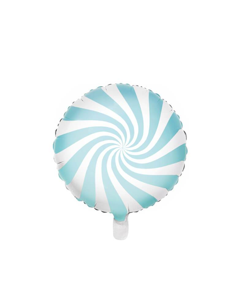 "Party Deco 18"" Blue Candy Foil Balloon"