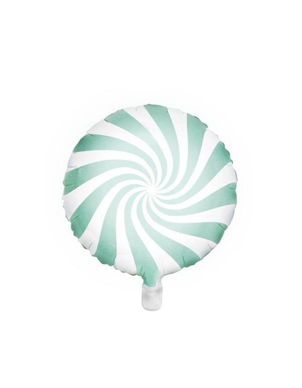 "Party Deco 18"" Mint Candy Foil Balloon"