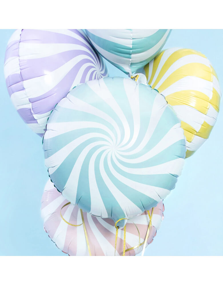 Party Deco Candy Foil Balloon Assorted colors
