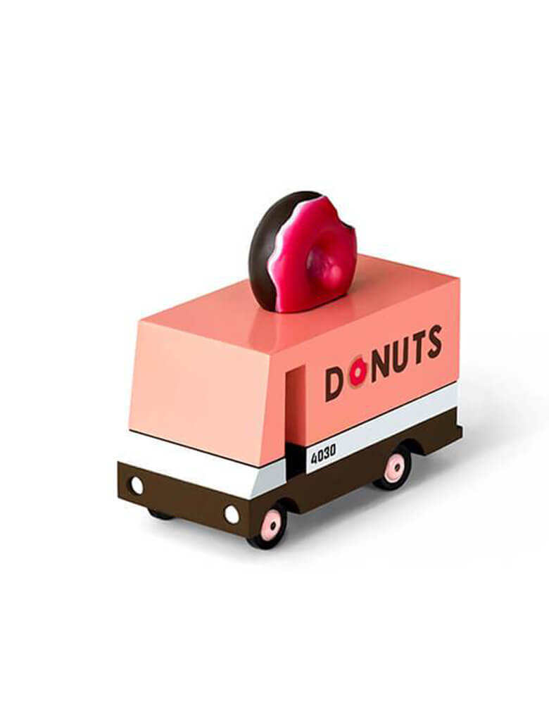 Candylab Candyvans Donut Van, Designed by Candylab Toys, it was built with solid beech wood, water-based paint and clear urethane coat.