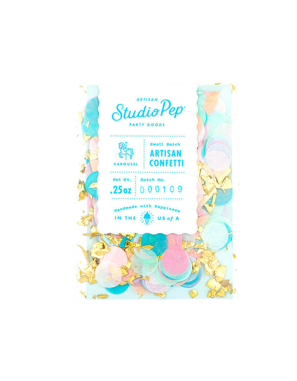 Studio Pep Carousel ARTISAN CONFETTI MINI BAG 0.25 oz