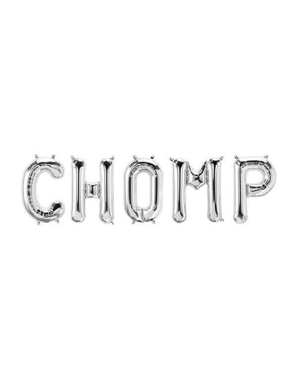 Chomp Mylar Balloon Set