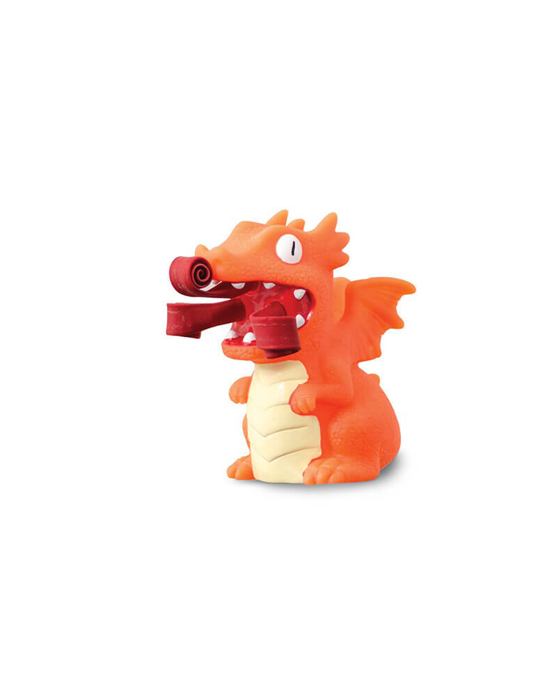 Christmas Holiday Orange PartyCurlyPops Dragon