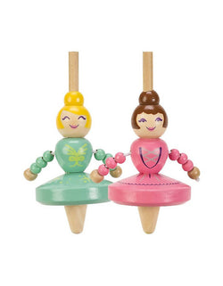 Ballerina Spinners wooden toy