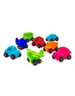 squishy-soft rubber foam colorful Little Vehicles