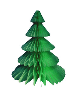 Devra Party Honeycomb Paper Christmas Tree decoration in Light green color, 17 inch, Made in the USA with high quality tissue paper. This tissue paper tree will look so adorable for either your Holiday decoration at home or your Christmas event, use it as room decor, table centerpiece, or put them on top of the mantel. Delight your cozy pastel holiday with modern unique designed paper tree. Sold by Momo party store provided modern party supplies, boutique party supplies, chic holiday party supplies
