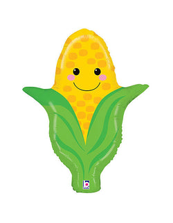 betallic-27inch-pals-corn-foil-balloon for a Farm themed birthday party, vegetable, Autumn festival celebration