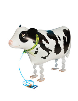 My Own Pet Balloon - 25 inches Cow. Cow My Own Pet Air Walker Foil Balloon. Bring the most adorable pet to your farm themed party! Let your little farmer walk their favorite sheep around! It's a perfect activity for the little ones at a barnyard themed celebration!