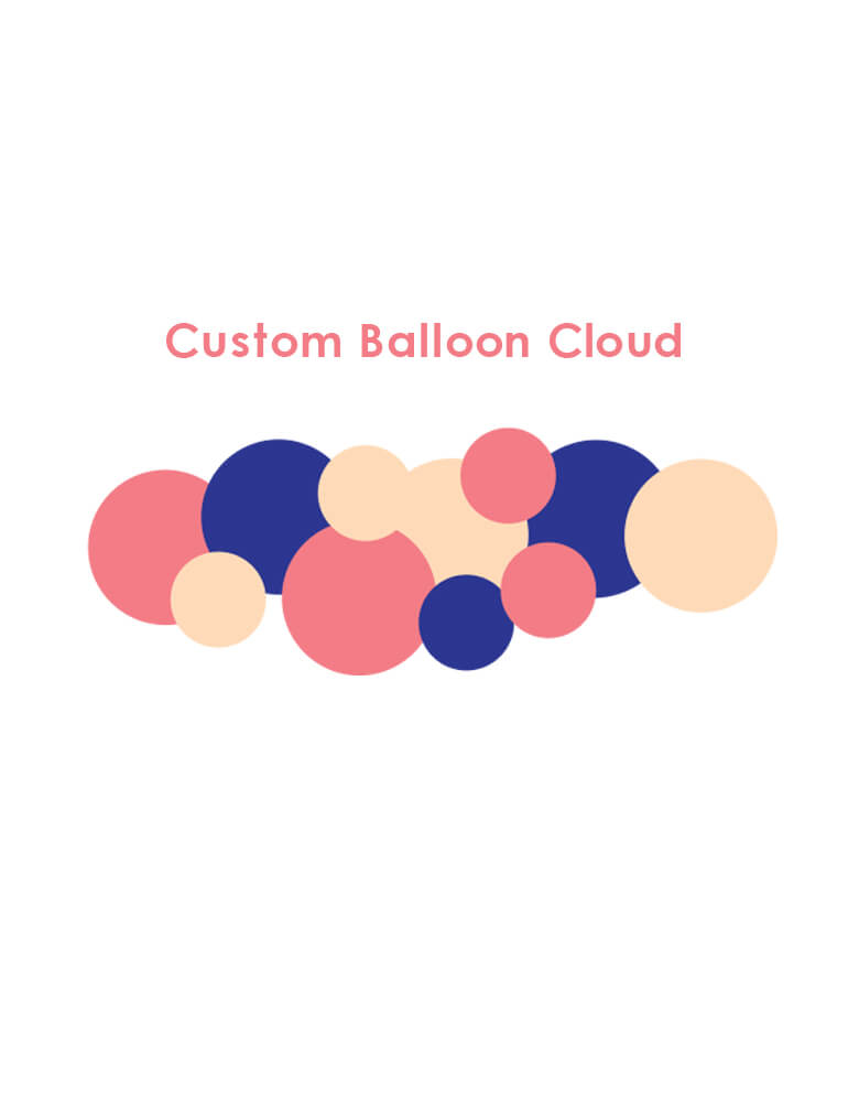 Custom Balloon Garland_Creat your own colors to match your party theme
