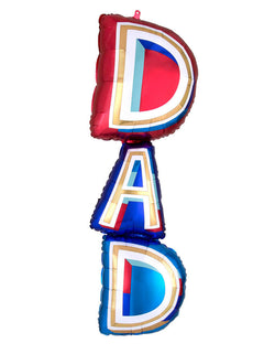 "Anagram 39"" Dad Supershape Foil Balloon"