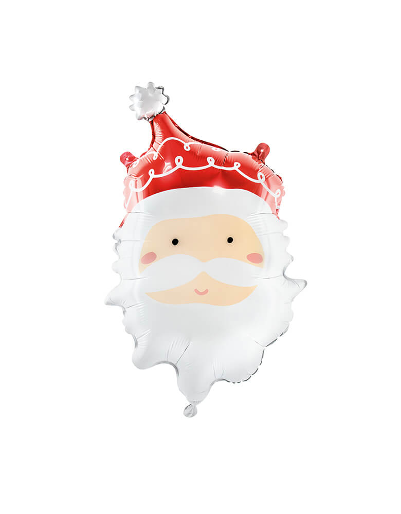 "Party Deco 24""  Dear Santa Foil Mylar Balloon for a kids Christmas party"