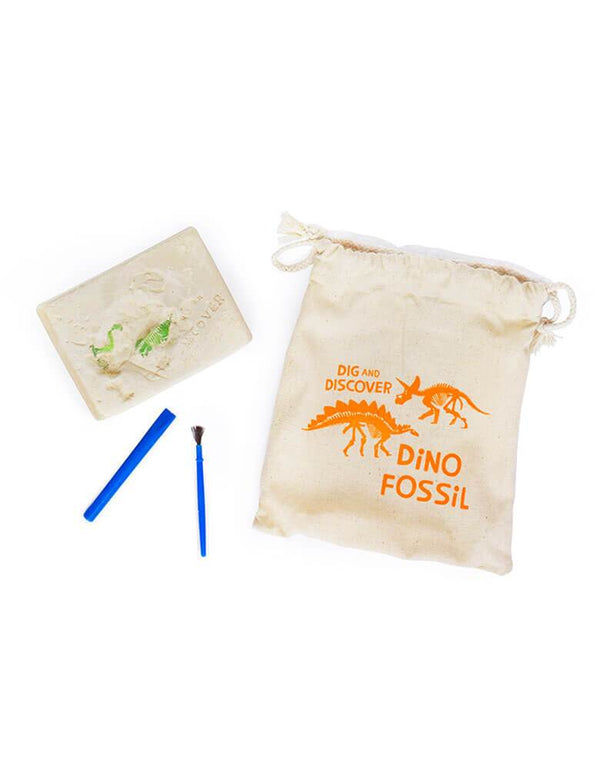 Dino Fossil Kit Open bag