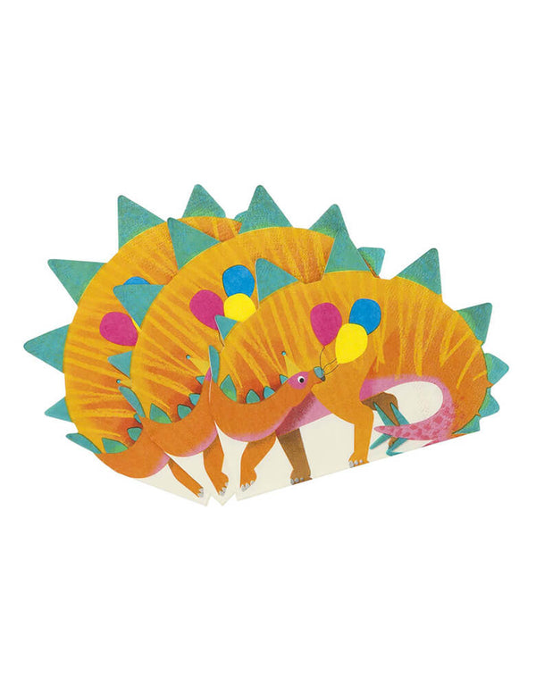 Talking Tables_Dinosaur Shaped Napkins_Dinosaur Party Ideas