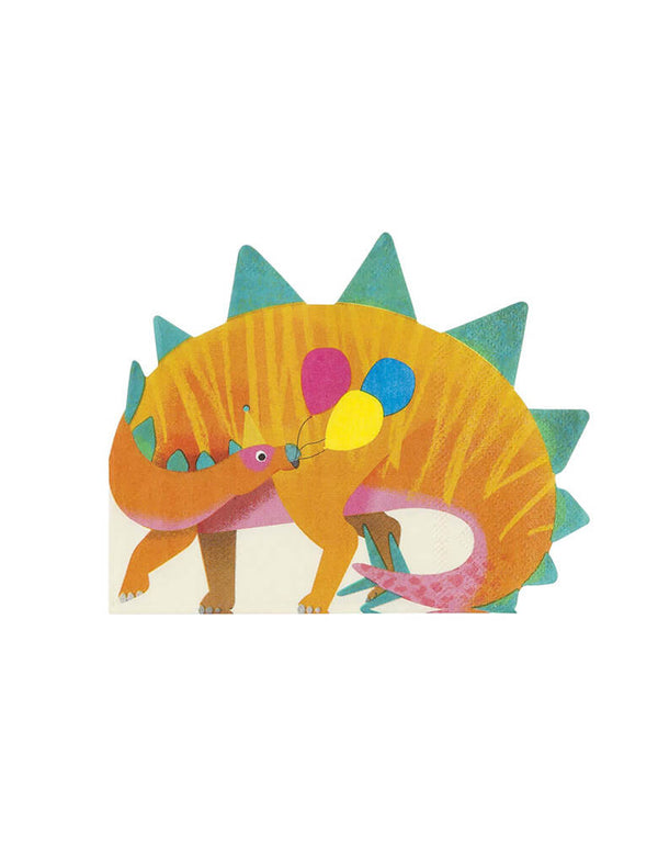 Talking Tables_Dinosaur Shaped Napkins_Dinosaur Themed Party Supplies for Kids