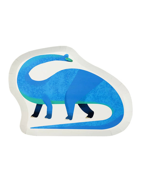 Talking Tables_Dinosaur Shaped Plates_Dinosaur Themed Party Supplies for Kids