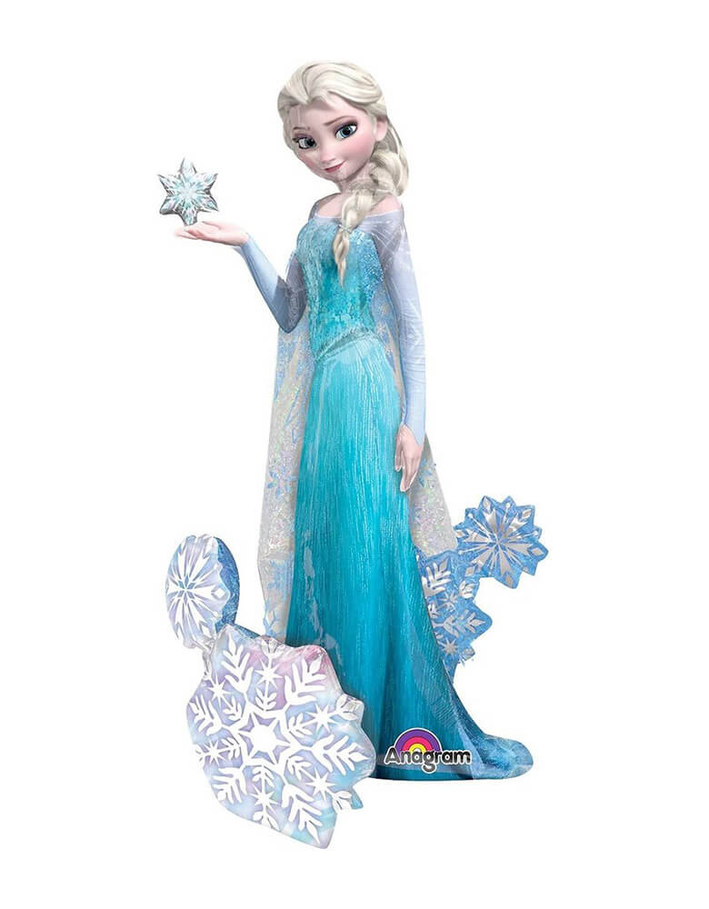 "57""_Anagram_Disney Frozen Elsa Airwalker Foil Balloon"