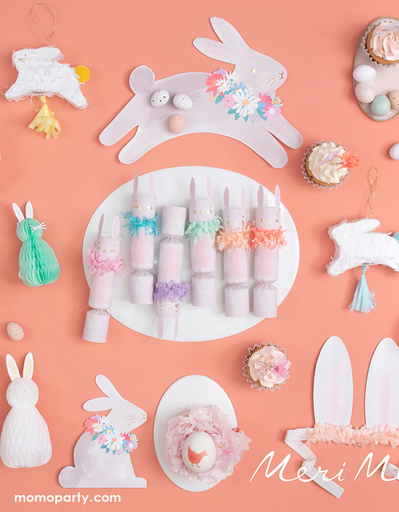 Spring Bunny Plates (Set of 8)
