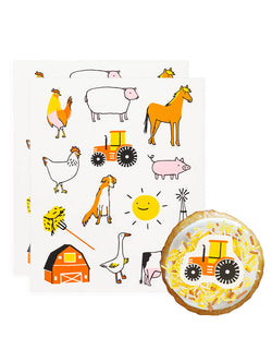 Farm Edible Decorating Stickers