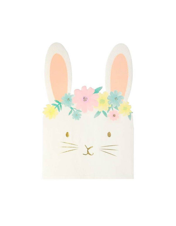 Meri Meri Floral Bunny Napkins Set of 16