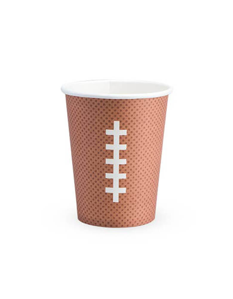 Cakewalk 12 oz Football Party Paper Cups