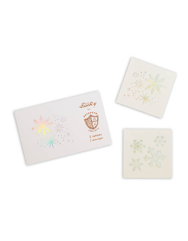 Daydream Society Frosted Temporary Tattoos Set of 2