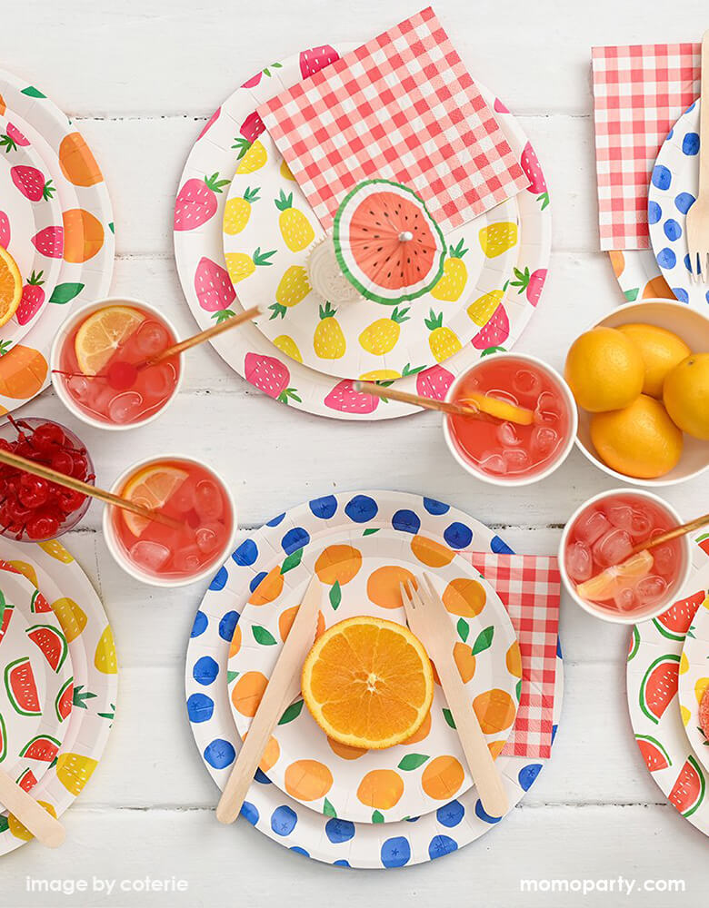 Fruit Punch Small Plates (Set of 10)