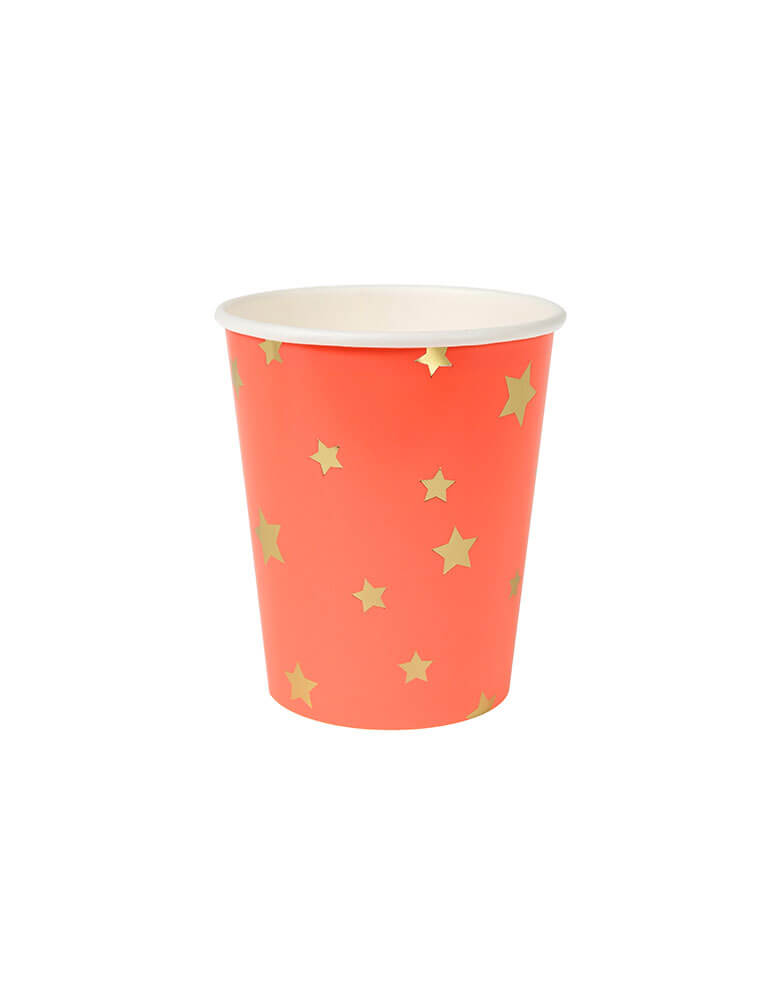 Jazzy Star Paper Cup of Red