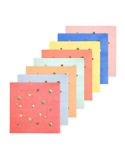 Meri Meri Colorful Jazzy Star Napkins