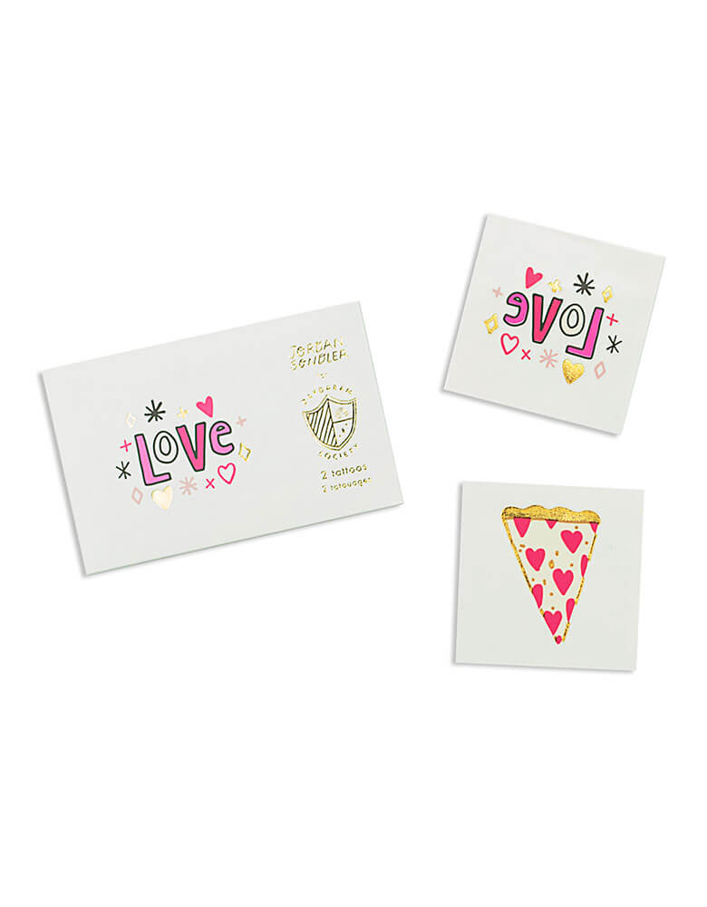 Day Dream Society Love Notes Temporary Tattoos