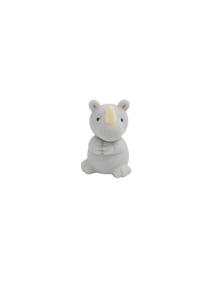 Schylling Toys Iwako Safari Animal Novelty Eraser  - rhino